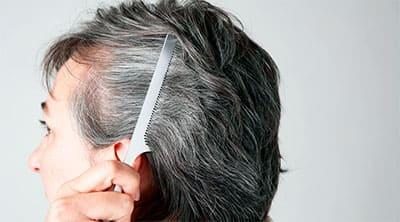 Окрашивание седых женских волос