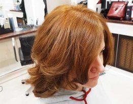 Окрашивание волос хной в салоне