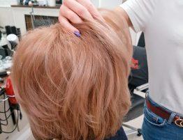 Рельефное окрашивание волос цвет светлая карамель