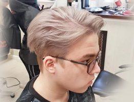 Мужское осветление волос