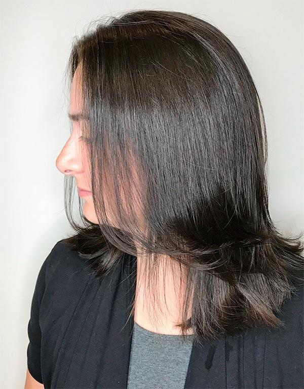 Красивые женские стрижки на длинные волосы без челки