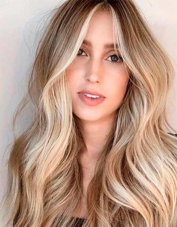 Современные женские стрижки на длинные волосы