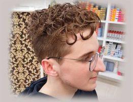 Кудрявые волосы после завивки