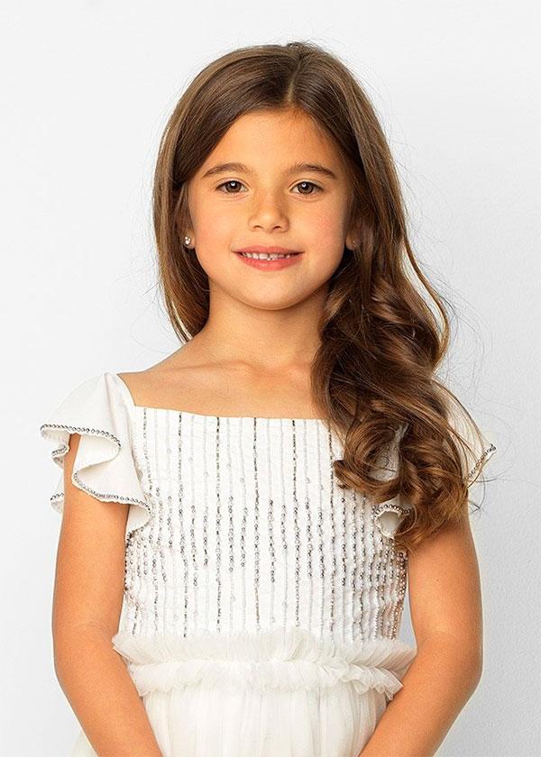 Детская стрижка на длинные волосы