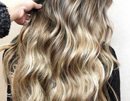 Окрашивание кудрявых волос балаяж 2020