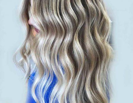 Окрашивание волос техникой мелирования