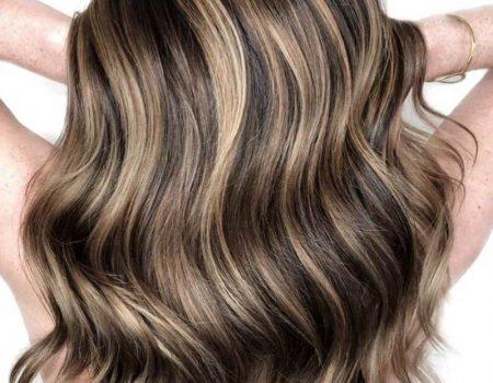 Мелирование на каштановые волосы фото