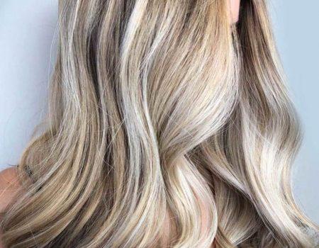 Мелирование балаяж на длинные волосы