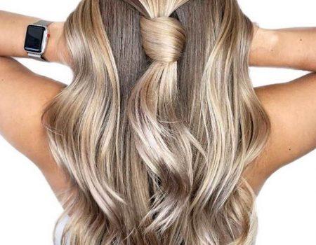 Мелирование на длинные волосы фото салона