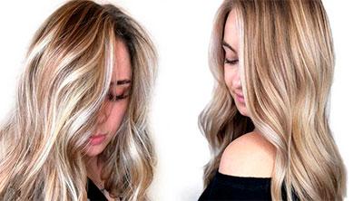 Особенности мелирования на длинные волосы