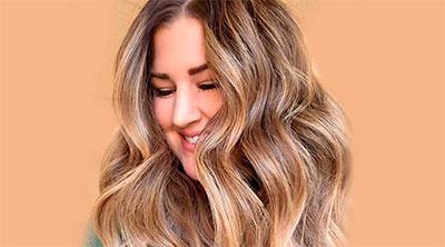 Щадящее мелирование и осветление волос