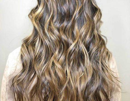 Мелирование длинных волос в салоне