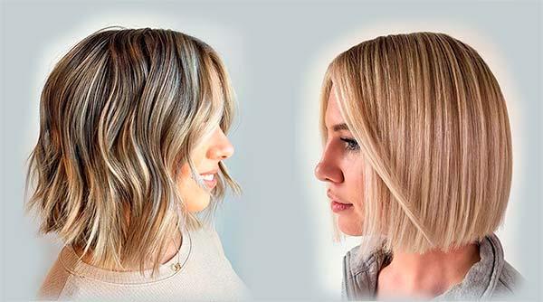 Мелирование на короткие волосы в салоне