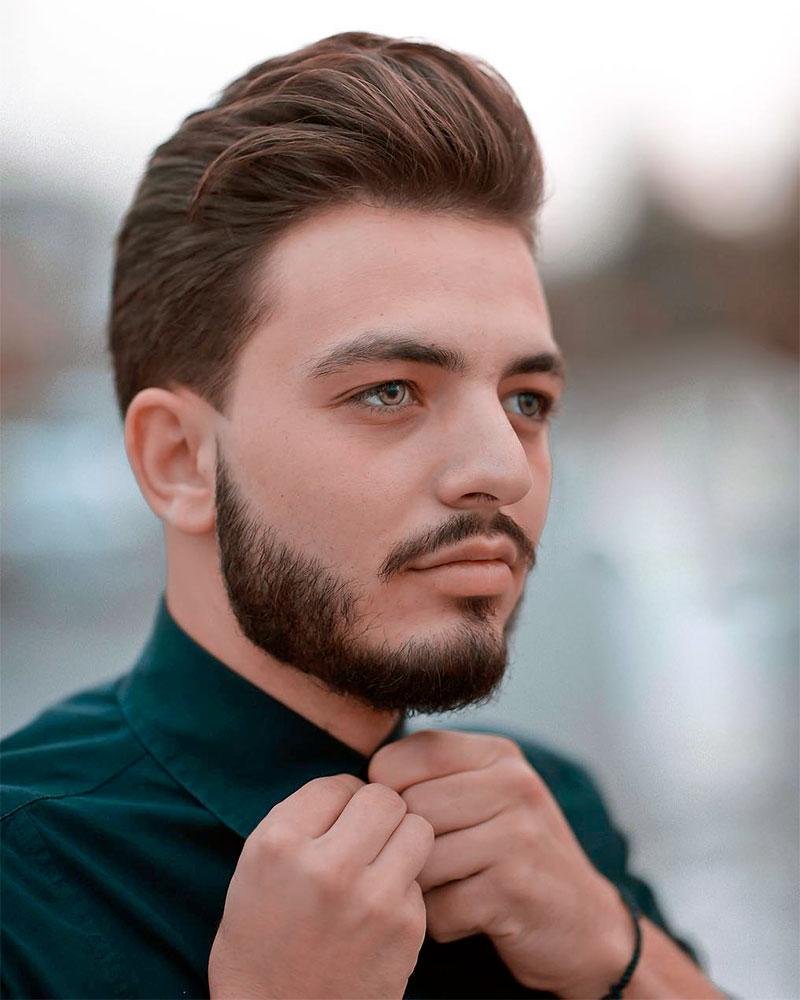 Помпадур прическа мужская фото