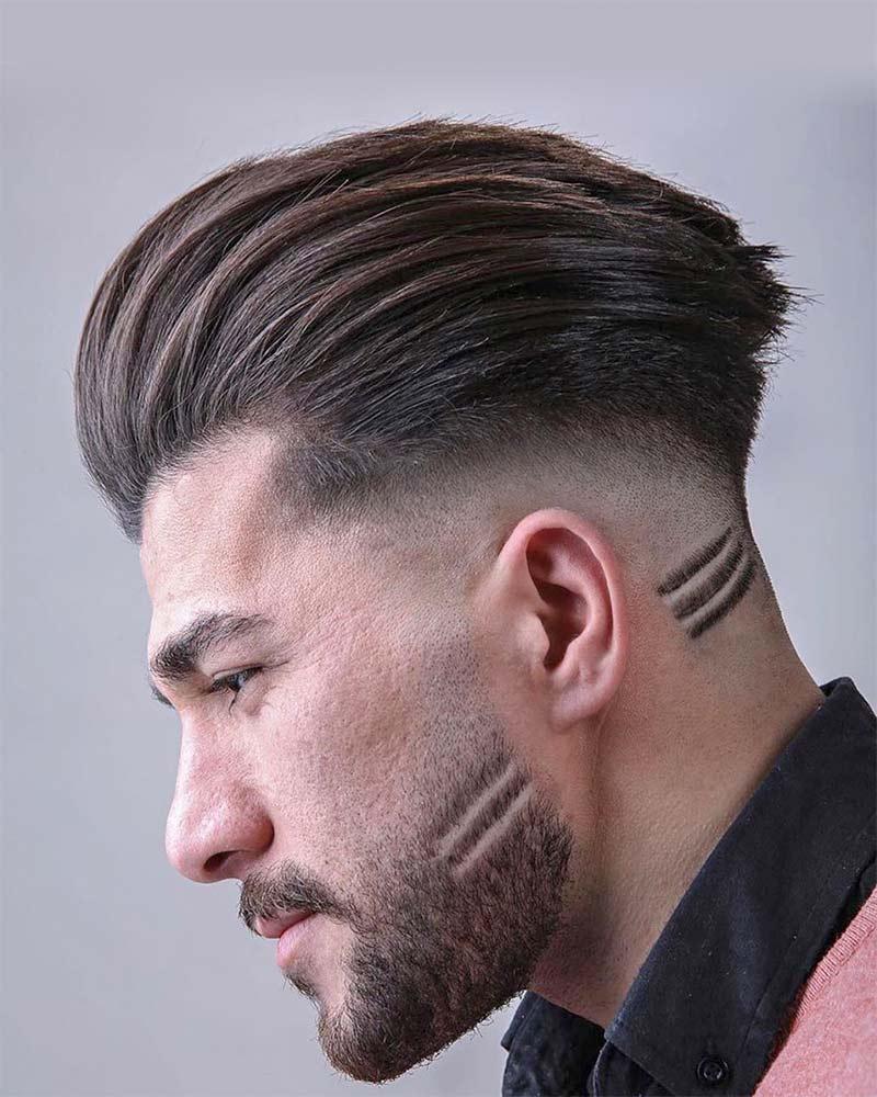 Стрижки 2020 мужские фейд с бородой