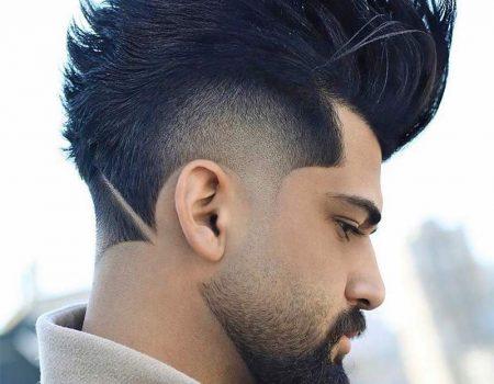 Модные мужские стрижки волос и бороды 2020