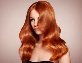 Покрасить черные волосы в рыжий цвет