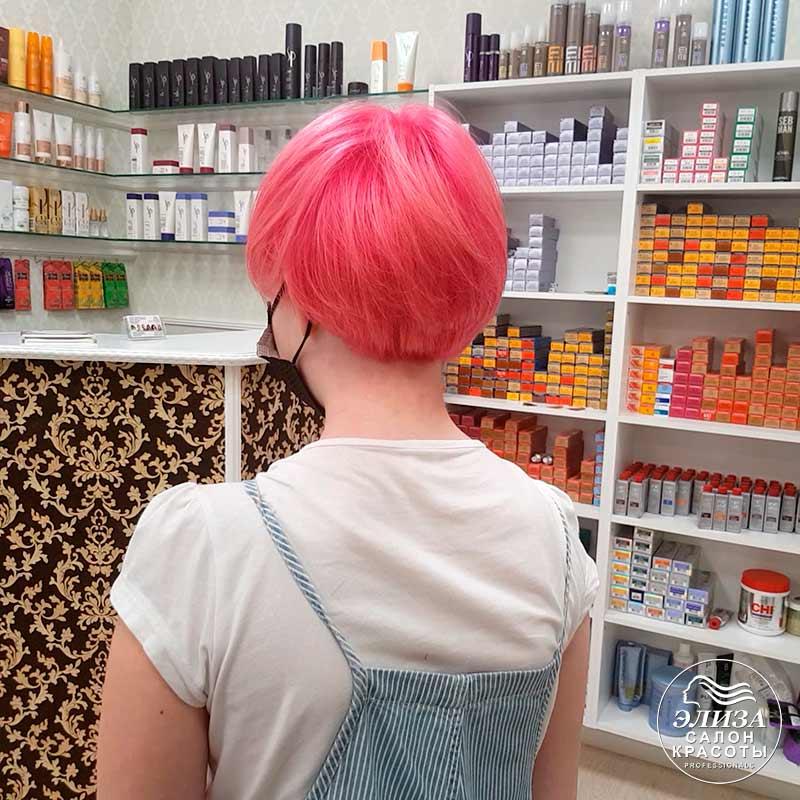 Модное окрашивание волос для девочек