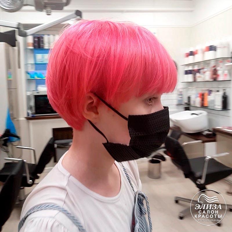 Модное окрашивание волос для подростков