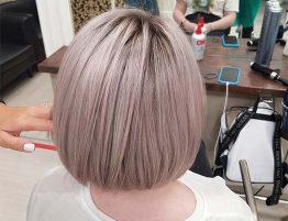 Перламутровые оттенки волос
