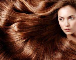 Окрашивание волос в один тон с растяжкой