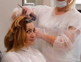 Растяжка (или растягивание цвета на волосах) – это популярная нынче техника окрашивания