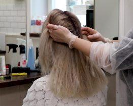Эффект отросших корней у блондинок