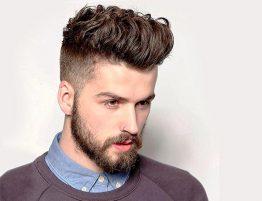 Модные стрижки в 2021 мужских вьющихся волос, завивка в Москве